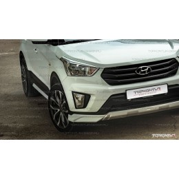 Накладки на фары HC1 Hyundai Creta
