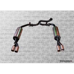 Глушитель прямоточный раздвоенный Hyundai Solaris