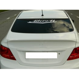 Hyundai Solaris накладка на стекло HS3