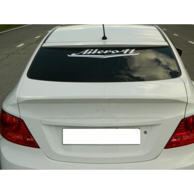 Hyundai Solaris козырек на заднее стекло HS3