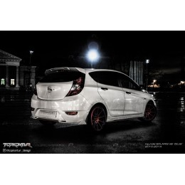 Hyundai Solaris Hatchback styling kit Topkontur vol.1