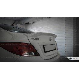 Hyundai Solaris седан спойлер ZEUS
