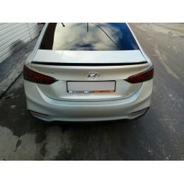 Hyundai Solaris 2 спойлер