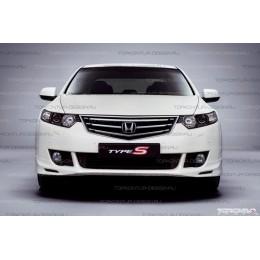 Honda Accord 8 Накладка переднего бампера Type S