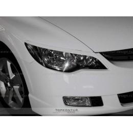 Honda Civic 4D Накладки на фары