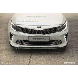 Юбка переднего бампера DictaTOR Kia Optima GT-Line (JF)