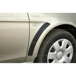 "Mitsubishi Lanсer Х накладки на крылья ""жабры"" ""Эво"""