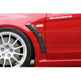 "Mitsubishi Lanсer Х накладки на крылья ""жабры"" RPM"