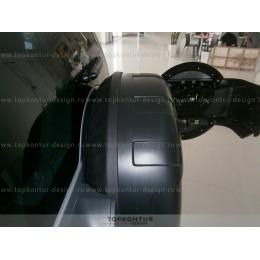 Mitsubishi Pajero 4 бокс запасного колеса