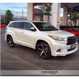 Toyota Highlander Расширители арок