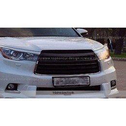 Toyota Highlander Накладки на фары